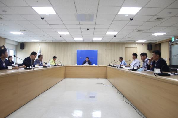 과장단 티타임 및 신속집행 부진부서 보고회 이미지
